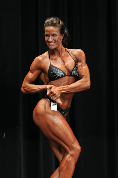 Womens Bodybuilding Pro Winner, Christyn May