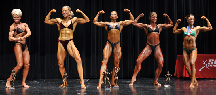 Womens Bodybuilding Open